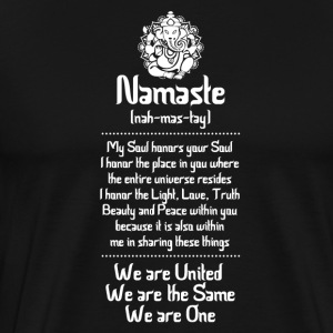 NAMASTE | WE ARE .... - Men's Premium T-Shirt