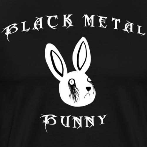 Black Metal Bunny - Männer Premium T-Shirt