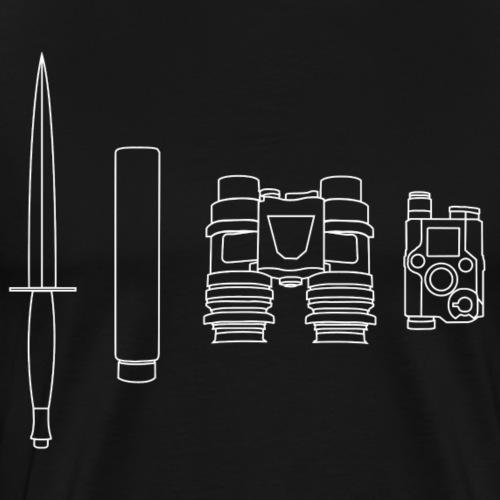 SOPMOD weiss - Männer Premium T-Shirt