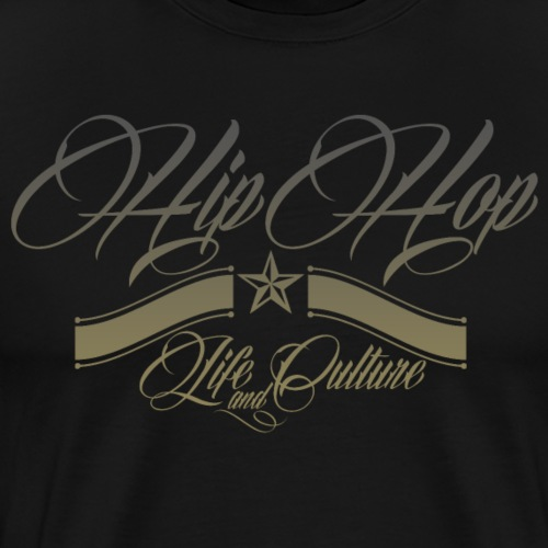 HipHop Life and Culture V2 - T-shirt Premium Homme