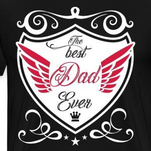 Bester Papa der Welt Vater Geschenk Vatertag Dad - Männer Premium T-Shirt