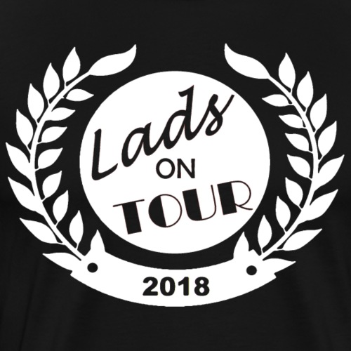 Lads On Tour - 2018 - White - Men's Premium T-Shirt