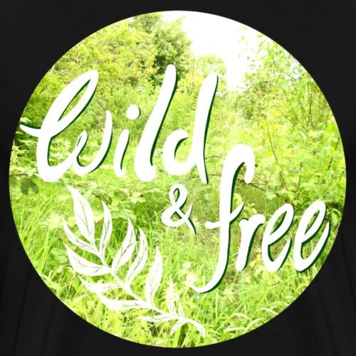 Wild&free - Männer Premium T-Shirt