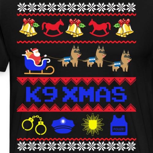 K9 Xmas - Männer Premium T-Shirt