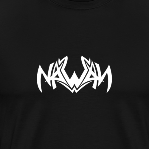 Logo NAWAN BLANC - T-shirt Premium Homme