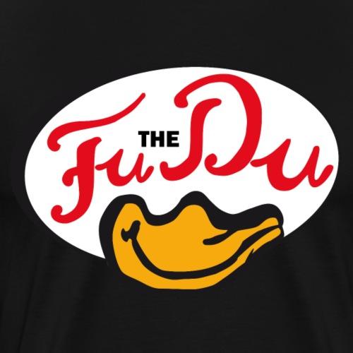 FuTheDu Ellipse weiß - Männer Premium T-Shirt