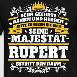 His Majesty Rupert - Men's Premium T-Shirt