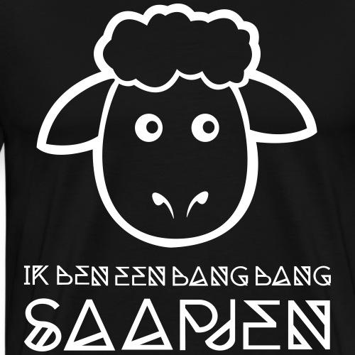 Bang bang saapjen - Mannen Premium T-shirt