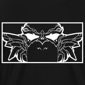 BAD_OWL_WHITE - Men's Premium T-Shirt