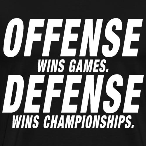Offense Defense Championship - Männer Premium T-Shirt