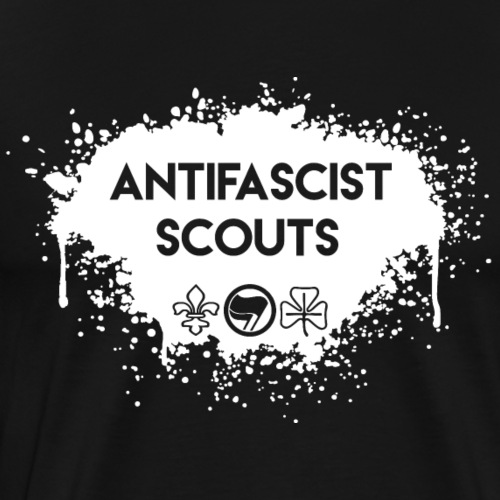 Antifascist Scouts - Men's Premium T-Shirt