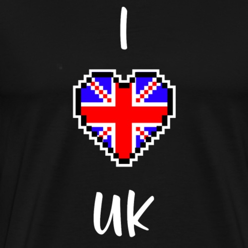 I love UK - Männer Premium T-Shirt