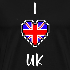 I love UK - T-shirt Premium Homme