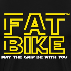 FATBIKE - May the grip be with you - Men's Premium T-Shirt