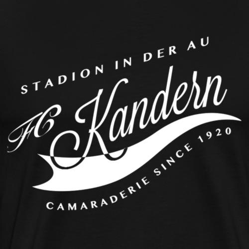 Retro Logo camaraderie FC Kandern - Männer Premium T-Shirt