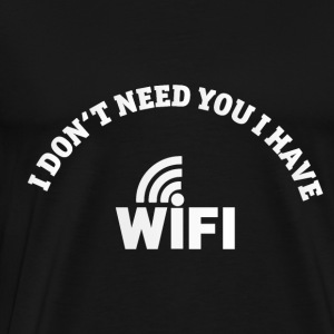 WIFI - Men's Premium T-Shirt