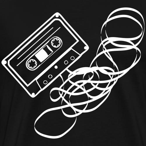 Cassette Salat - Männer Premium T-Shirt