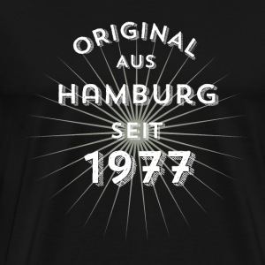 Original from Hamburg since 1977 - Men's Premium T-Shirt