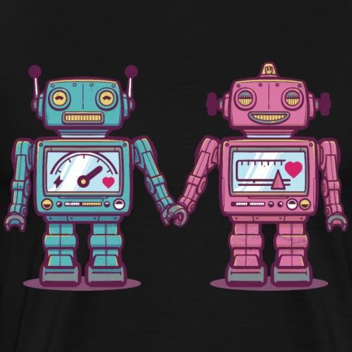 Loving Robots - T-shirt Premium Homme