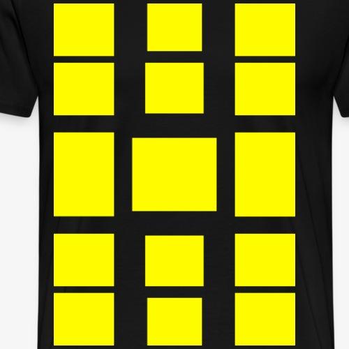 Vierecke - Männer Premium T-Shirt