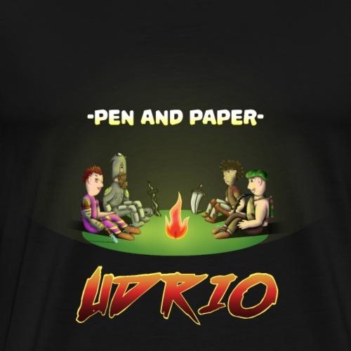 Pen and Paper Udrio - Finales Motiv - Männer Premium T-Shirt