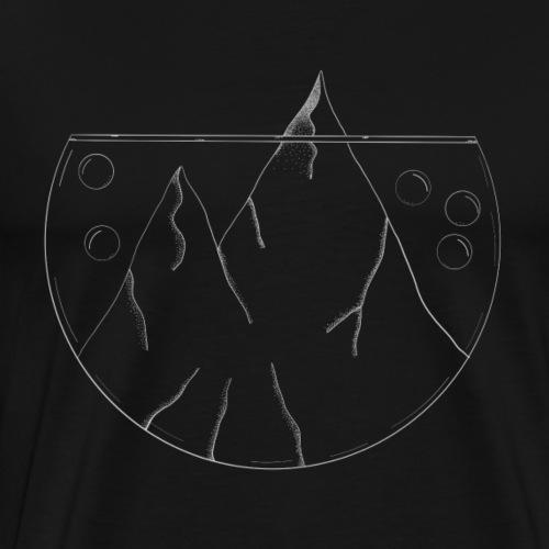 Glas - Männer Premium T-Shirt