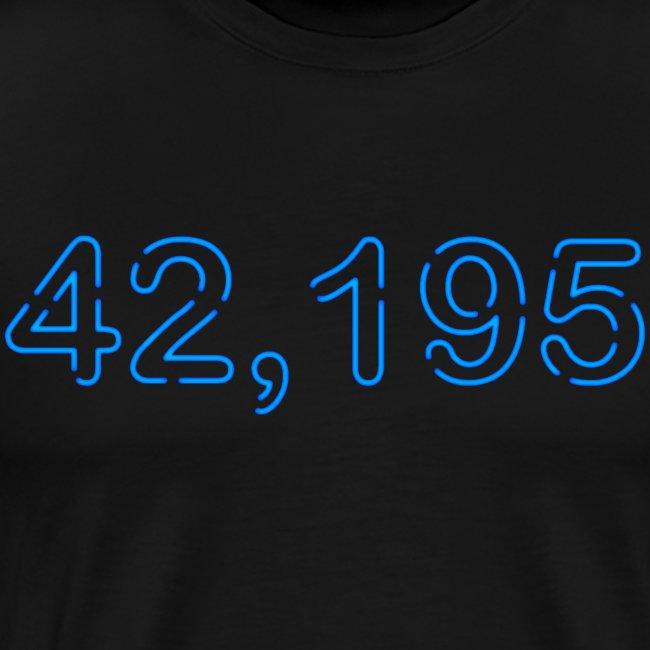Marathon 42,195 Neon