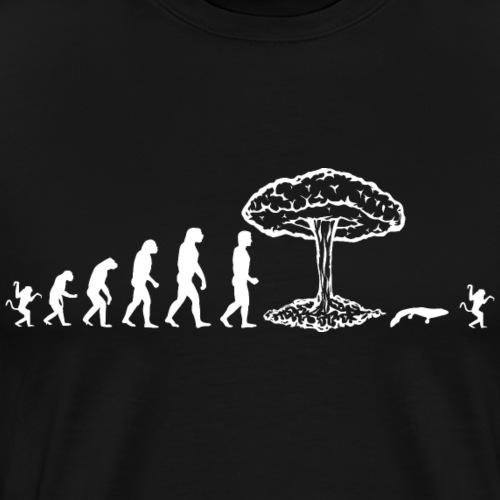 Evolution de l'homme : this is the end! II - T-shirt Premium Homme