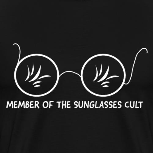 Member of the Sunglasses Cult - Men's Premium T-Shirt