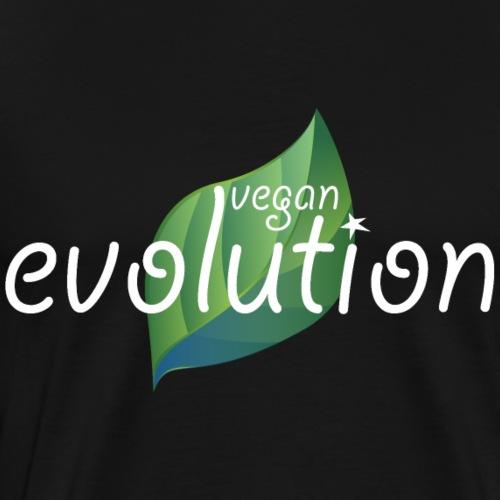 Vegan Evolution - Männer Premium T-Shirt