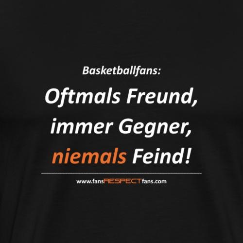 niemals Feind - Männer Premium T-Shirt
