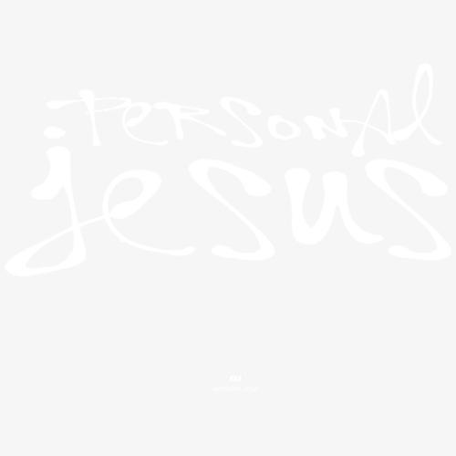 Personal Jesus (white) - Männer Premium T-Shirt