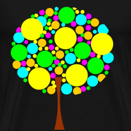Arbre colore - T-shirt Premium Homme