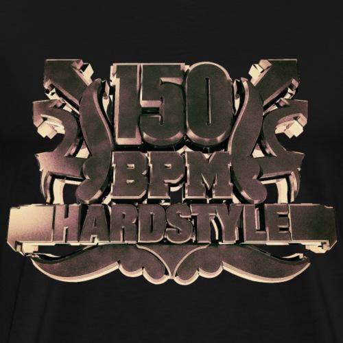 150 BPM Hardstyle 2 - Männer Premium T-Shirt