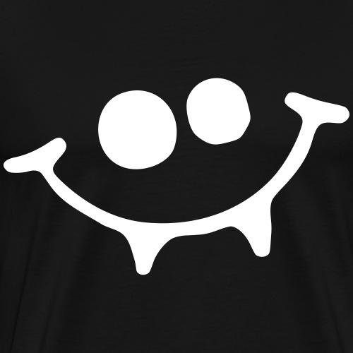 Vampir Smiley - Männer Premium T-Shirt