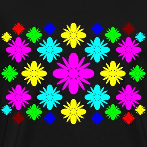 Blüten bunt - Männer Premium T-Shirt
