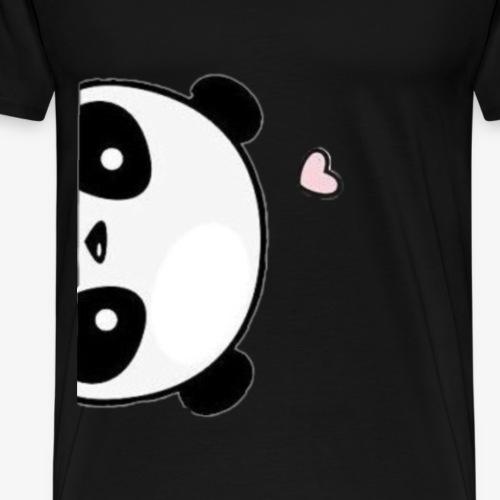 Cute panda love - Men's Premium T-Shirt