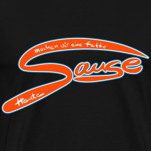 Farbige Sause - Männer Premium T-Shirt