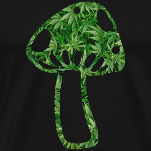 mushroom - Männer Premium T-Shirt