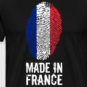 Made in France / Frankrijk / République française - Mannen Premium T-shirt