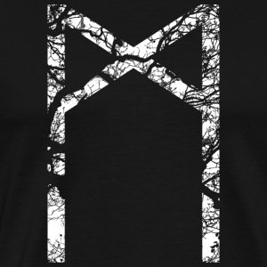 Mannaz Rune - Men's Premium T-Shirt