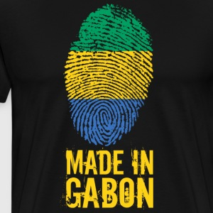 Made In Gabon / Gabon / Le Gabon - Premium T-skjorte for menn