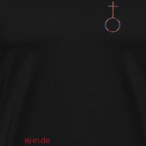 Kleines Kreuz - Männer Premium T-Shirt