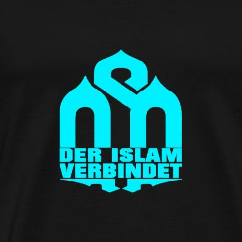 BLUE-DIV-WORK - Männer Premium T-Shirt