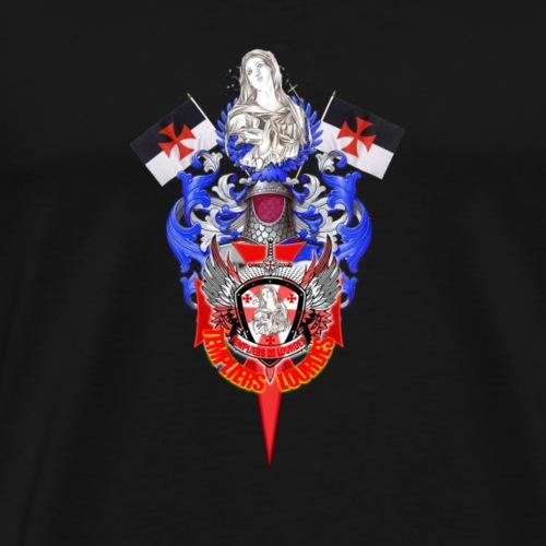 Templiers de Lourdes - T-shirt Premium Homme