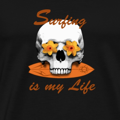 Surfing is my Life - Männer Premium T-Shirt