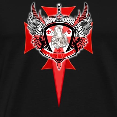 logo templiers de lourdes - T-shirt Premium Homme