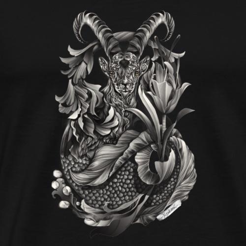 Steinbock Sternzeichen - Männer Premium T-Shirt