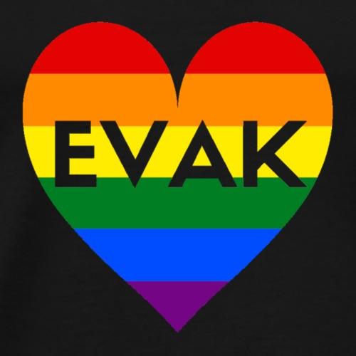 EVAK REGNBUE - Premium T-skjorte for menn