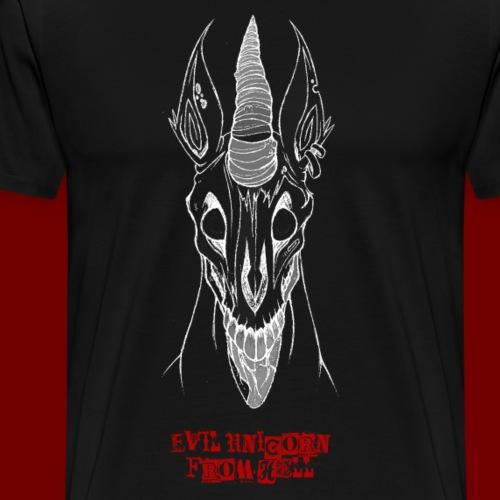 Hölleneinhorn - Männer Premium T-Shirt
